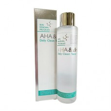 Тонер очищающий Mizon Aha&bha Daily Clean Toner