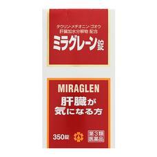 Гепатопротектор Miraglen шесть активных компонентов и витамины № 350