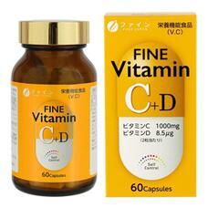 Витамины C и D для поддержания красоты и здоровья № 60