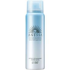 Anessa Perfect UV Sunscreen Bubble Spray A SPF 50+ PA++++ Освежающий водостойкий санскрин спрей-пенка с цитрусовым ароматом 60 гр
