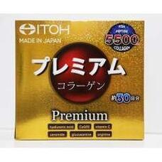 ITOH Premium Сollagen Низкомолекулярный премиум коллаген и 9 активных компонентов для красоты и здоровья № 30