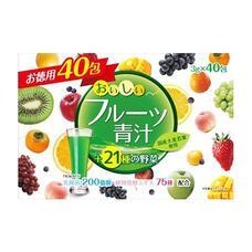 YUWA Аодзиру с молочнокислыми бактериями и ферментами с фруктовым вкусом № 40