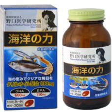 Noguchi Medical Research Institute Ocean Power Сила океана Омега-3 и масло криля № 90