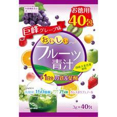 YUWA Аодзиру с железом и фолиевой кислотой со вкусом винограда №40