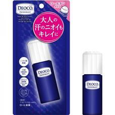 Rohto Deoco Medicated Deodorant Roll-On Роликовый лечебный дезодорант 30 мл
