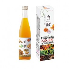 Hakkoh Liftia Placenta 220,000 Ферментированный экстракт плаценты с ферментированными экстрактами фруктов, овощей и ягод вкус персика 500 мл