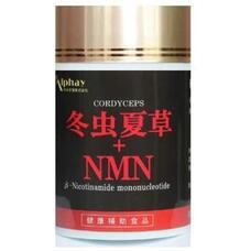 Alphay Кордицепс высокоочищенный 50-кратной концентрацией и NMN № 120