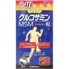 Maruman MSM Глюкозамин, экстракт акульего хряща и МСМ для здоровья суставов № 540