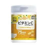 Unimat Riken Zoo Жевательный натуральный Витамин С со вкусом лимона для укрепления иммунитета № 150