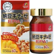 Unimat Riken Наттокиназа 2000 FU и EPA № 60