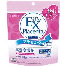 ITOH Placenta EX Плацента с коэнзимом, коллагеном, гиалуроновой кислотой и керамидами 90 гр