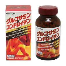ITOH Glucosamine & Chondroitin Глюкозамин Хондроитин с корнем дьявола № 360