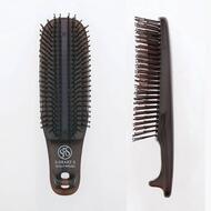 Расческа Scalp Brush Kom 376 зубчиков цвет коричневый