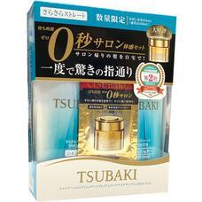 SHISEIDO TSUBAKI набор шампунь, кондиционер и маска для волос разглаживающий 315 мл+315 мл +15 г