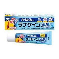Охлаждающий антигистаминный гель с противозудным эффектом Kobayashi Pharmaceutical Lanacane Cold Feeling Gel 30 гр
