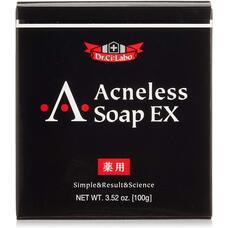 Dr. Ci: Labo Acneless Soap EX Твердое мыло для умывания против акне и воспалений 100 гр