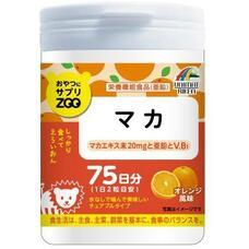 Unimat Riken ZOO Мака перуанская с цинком жевательные таблетки со вкусом апельсина № 150