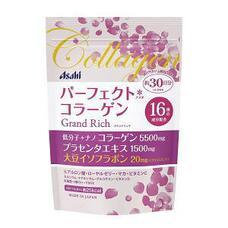 Asahi Grand Rich Perfect Collagen Коллагеновый комплекс для женщин с плацентой и изофлавонами сои 228 гр