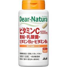 Asahi Dear Natura Витамин C, цинк, молочнокислые бактерии, витамин B2, витамин B6 № 120