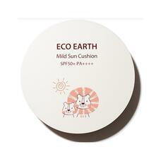 THE SAEM Sun Кушон Eco Earth Mild Sun Cushion (Lion Edition) SPF 50+ PA++++ 12гр