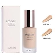 THE SAEM Eco Soul R Тональный крем Eco Soul Real Serum Foundation 21 Light Beige 35мл