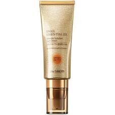 THE SAEM Snail Essential Солнцезащитный крем Snail Essential EX Wrinkle Solution Sun Cream SPF 50+ PA++++ 40мл