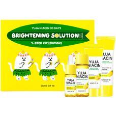 SOME BY MI 30DAYS Набор с юдзу для осветления кожи YUJA NIACIN 30DAYS BRIGHTNING SOLUTION 4 STEP KIT 30мл/30мл/25мл/10мл