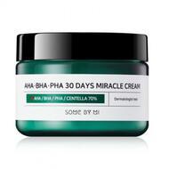 SOME BY MI 30DAYS Крем с AHA BHA кислотами AHA.BHA.PHA 30 Days Miracle Cream 60ml