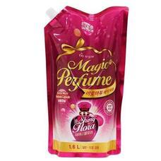MUKUNGHWA Кондиционер для белья Concentrated Fabric Softner Aroma VIU Magic Perfume (Shiny Flora) (refill) 1.6L
