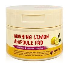 EYENLIP Пады пропитанные эссенцией MORNING LEMON AMPOULE PAD 120ml (100 pcs)