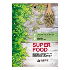 EYENLIP SUPER FOOD Маска для лица тканевая EYENLIP SUPER FOOD GREEN TEA MASK 23мл