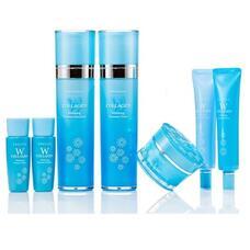 ENOUGH W Набор для лица уходовый W Collagen whitening premium skin care 5 set  130мл*2/ 50гр/30мл*2
