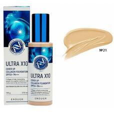 ENOUGH UC Тональный крем Enough Ultra X10 cover up Collagen foundation #21 100гр