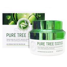 ENOUGH PT Крем для лица с экстрактом чайного дерева  Pure Tree Balancing Pro Calming Cream 50мл