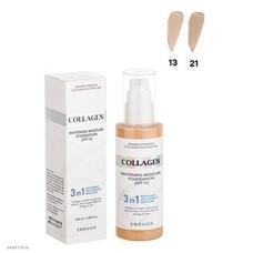 ENOUGH 3in1 Основа тональная с коллагеном 3 в 1 Enough 3in1 Collagen foundation #21 100мл