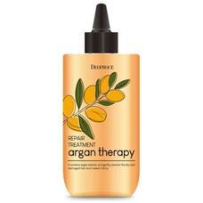 DEOPROCE Бальзам для волос DEOPROCE ARGAN THERAPY REPAIR TREATMENT 300мл