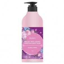 DEOPROCE BODY Гель для душа DEOPROCE MILKY RELAXING BODY WASH FLORAL MUSK 750 g