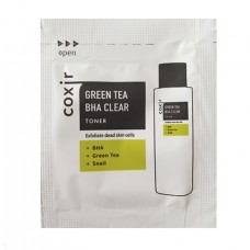 COXIR Greentea Тонер для лица Greentea BHA Clear Toner sample 2мл 1шт