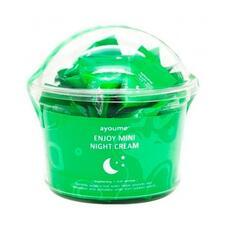 AYOUME MINI Крем для лица ночной с центеллой Ayoume Enjoy Mini Night Cream НАБОР (set 30штх3гр)