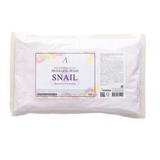ANSKIN Original Маска альгинатная с муцином улитки (пакет) Snail Modeling Mask (Refill) 240гр