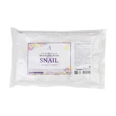 ANSKIN Original Маска альгинатная с муцином улитки (пакет) Snail Modeling Mask 1kg