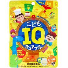 Unimat Riken Детские жевательные витамины IQ для умственной активности со вкусом апельсина № 45