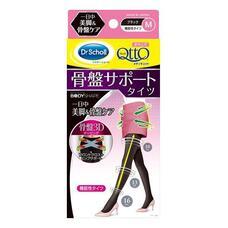 MediQttO Dr.Scholl Компрессионные колготки для дневного ношения с утяжкой в области живота и 3D поддержкой ягодиц цвет черный Размер М