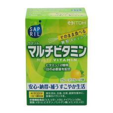 ITOH Sapril Мультивитаминный комплекс со вкусом грейпфрута 30 стиков