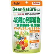 Asahi Dear Natura Витамины 48 овощей, клетчатка и молочнокислые бактерии № 240