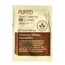 PURITO ББ Крем PURITO Snail Clearing BB cream #27 Sand Beige(sample) 1мл