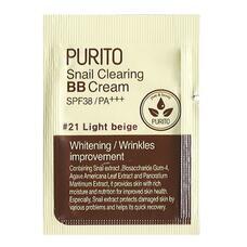 PURITO ББ крем PURITO Snail Clearing BB cream #21 Light Beige(sample) 1мл