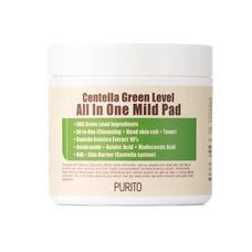 PURITO Centella Пэды PURITO Centella Green Level All In One Mild Pad 70шт