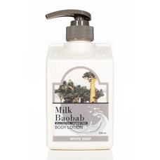 MILK BAOBAB OWS Лосьон для тела MilkBaobab Original Body Lotion White Soap 500мл