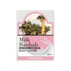 MILK BAOBAB OWM Лосьон для тела MilkBaobab Original Body Lotion White Musk Pouch 10ml